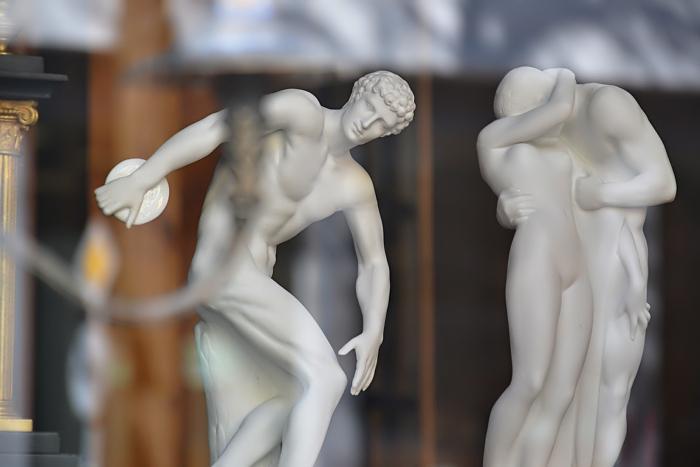Fabian Fröhlich, Antiquitätenladen, Kassel, Schaufenster