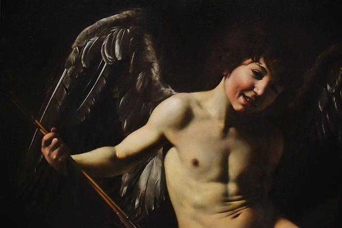 Fabian Fröhlich, Berlin, Gemäldegalerie, Caravaggio, Amor als Sieger