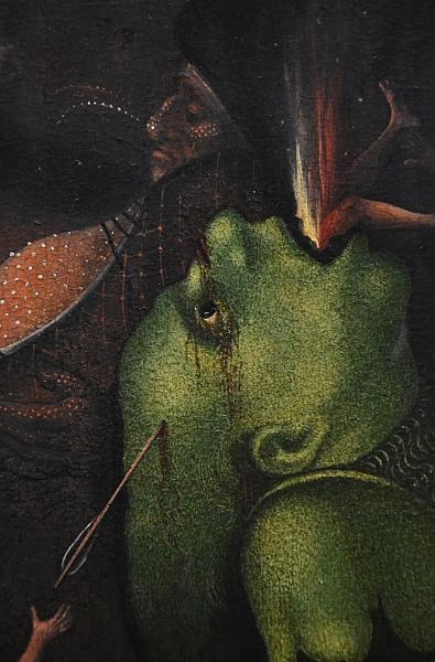 Fabian Fröhlich, Berlin, Gemäldegalerie, Lucas Cranach d.Ä., Flügelaltar mit dem Jüngsten Gericht (Kopie nach Hieronymus Bosch)
