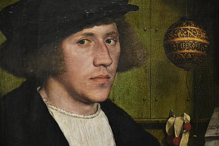 Fabian Fröhlich, Berlin, Gemäldegalerie, Hans Holbein d.J., Porträt Georg Gisze