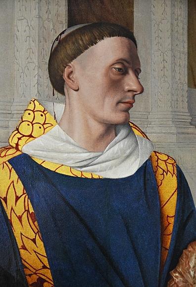 Fabian Fröhlich, Berlin, Gemäldegalerie, Jean Fouquet, Hlg. Stephanus,