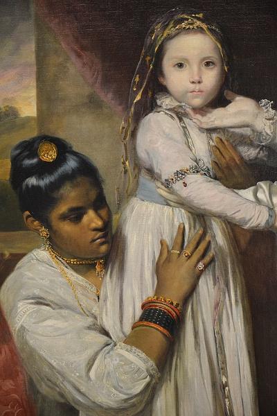 Fabian Fröhlich, Berlin, Gemäldegalerie, Joshua Reynolds, George Clive mit Familie und einer indischen Dienerin