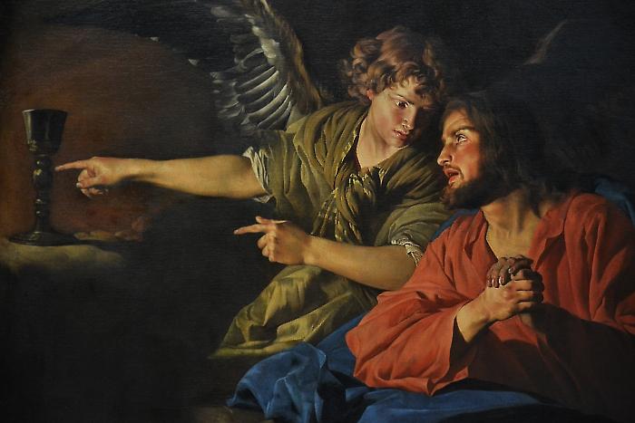 Fabian Fröhlich, Berlin, Gemäldegalerie, Matteus Stom, Christus am Ölberg