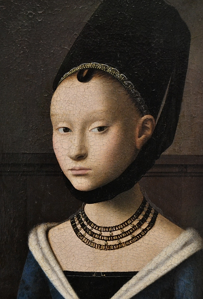 Fabian Fröhlich, Berlin, Gemäldegalerie, Petrus Christus, Porträt eines Mädchens