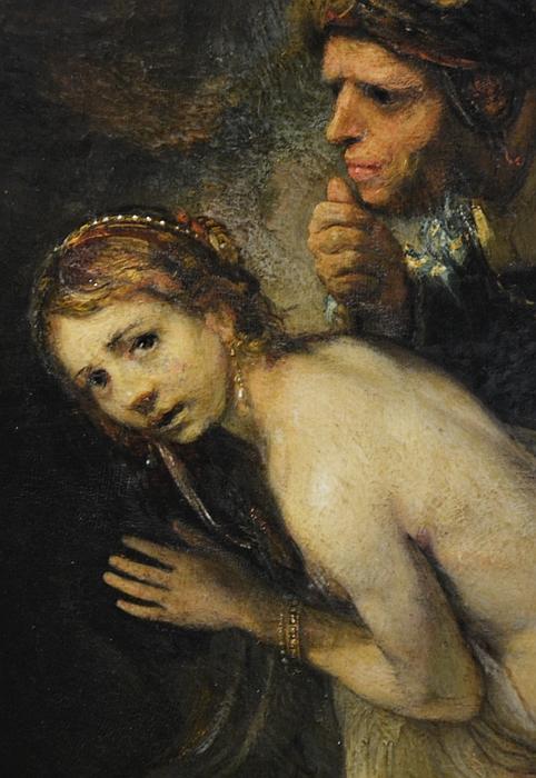 Fabian Fröhlich, Berlin, Gemäldegalerie, Rembrandt, Susanna im Bade