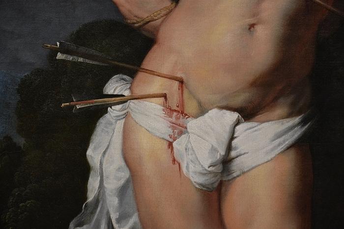 Fabian Fröhlich, Berlin, Gemäldegalerie, Peter Paul Rubens, Hl. Sebastian