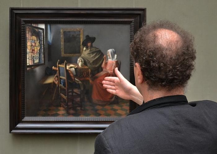 Fabian Fröhlich, Berlin, Gemäldegalerie, Johannes Vermeer, Das Glas Wein