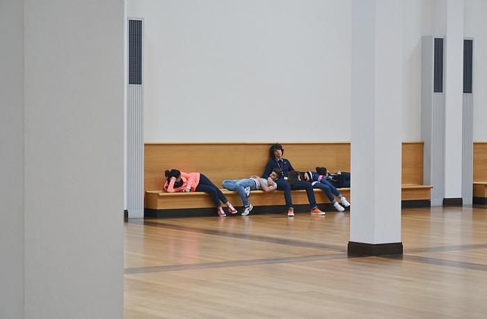 Fabian Fröhlich, Berlin, Gemäldegalerie, Wandelhalle