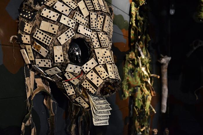 Fiona Hall, Fall Prey, Panda Bear, documenta 13, Fabian Fröhlich, Kassel