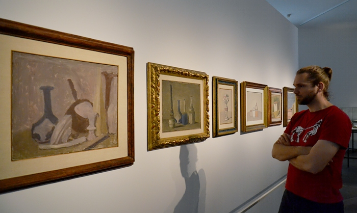 dOCUMENTA (13), Fridericianum, Giorgio Morandi, The Brain, Fabian Fröhlich, Kassel