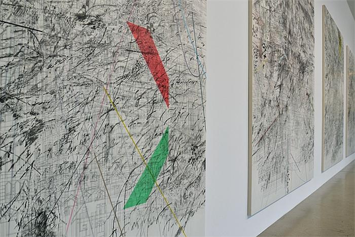 Fabian Fröhlich, dOCUMENTA (13), documentahalle, Julie Mehretu, Mogamma