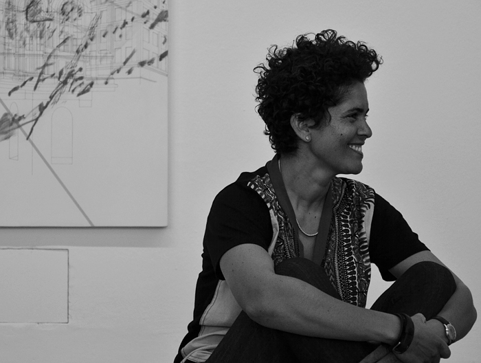 dOCUMENTA (13), Portrait Julie Mehretu