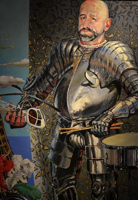 Nedko Solakov, Knights (and other dreams) (Standort: Brüder Grimm Museum) documenta 13, Fabian Fröhlich, Kassel