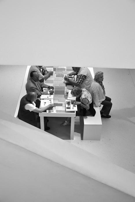 Neue Galerie, Untergeschoss, documenta 13, Kassel, Fabian Fröhlich