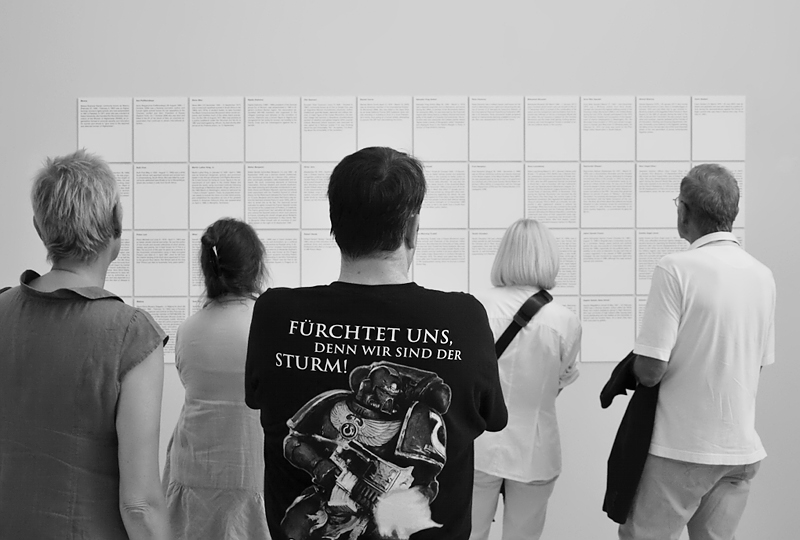 Sanja Ivecovic, The Disobiedient (The Revolutionries), visitors, documenta 13, Kassel, Fabian Fröhlich