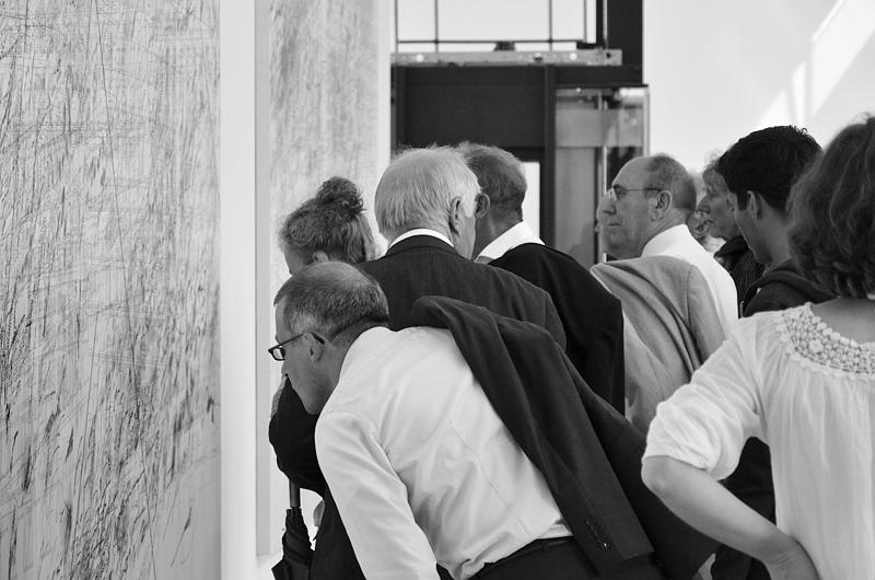 Julie Mehretu, Mogamma (documenta-Halle), documenta 13, Besucher, Kassel, Fabian Fröhlich