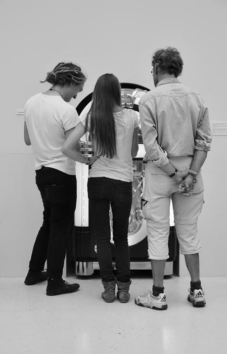 documenta 13, Besucher, Kassel, Fabian Fröhlich, Susan Hiller, Die Gedanken sind frei
