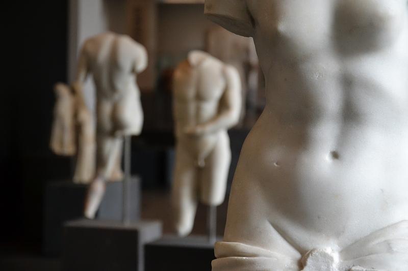Kassel, Antikensammlung, Schloss Wilhelmshöhe, Aphrodite und Epheben, Fabian Fröhlich,