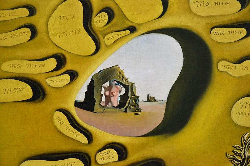 München, Pinakothek der Moderne, Salvador Dali, Das Rätsel der Begierde