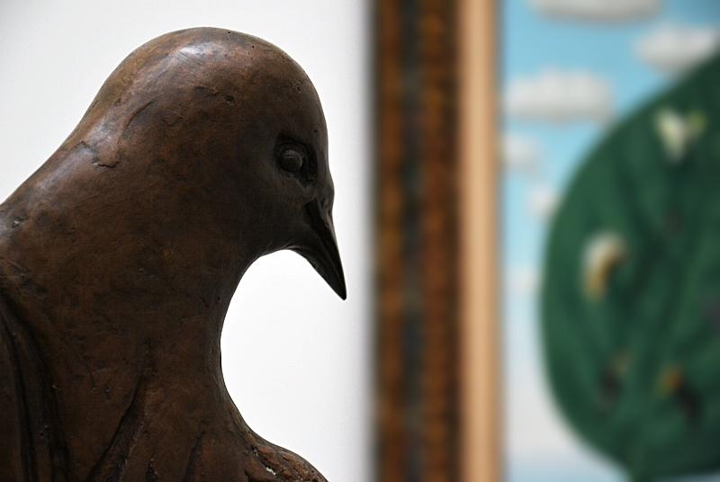 München, Pinakothek der Moderne, René Magritte, Die natürlichen Gnaden