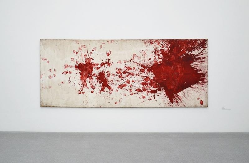 München, Pinakothek der Moderne, Hermann Nitsch