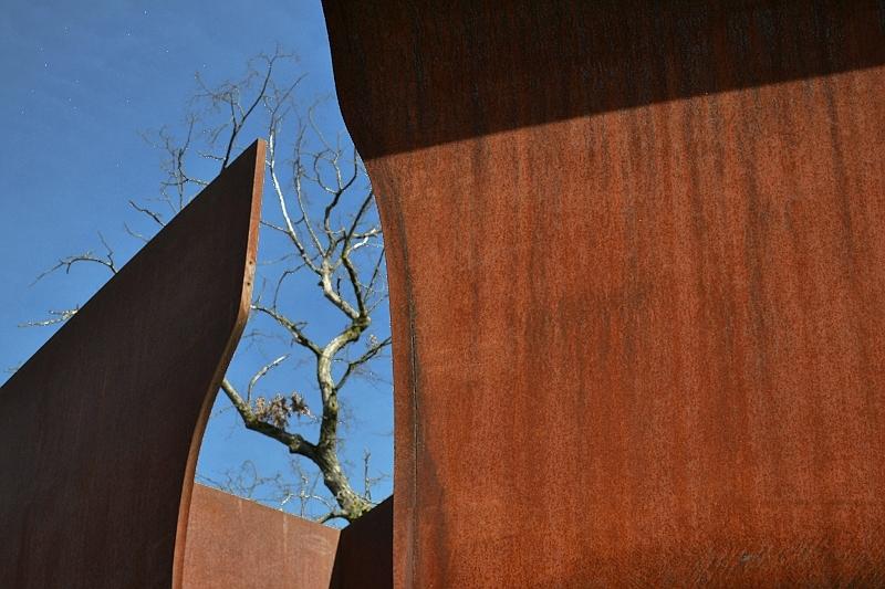 München, Pinakothek der Moderne, Richard Serra