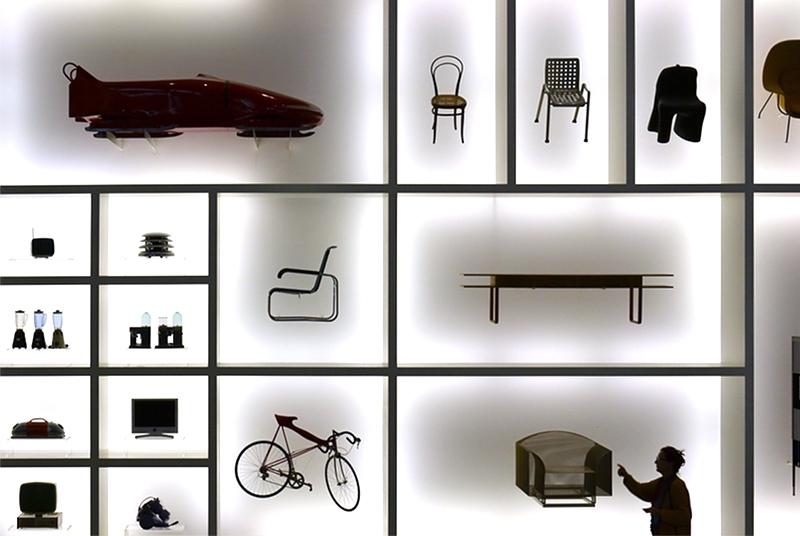 München, Pinakothek der Moderne, Designwand, Fabian Fröhlich