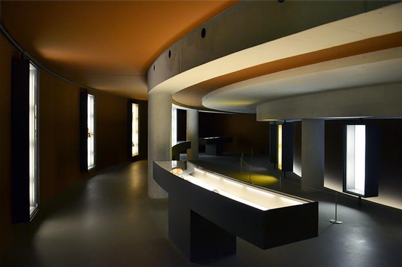 München, Pinakothek der Moderne, Danner-Rotunde, Untergeschoss, Fabian Fröhlich