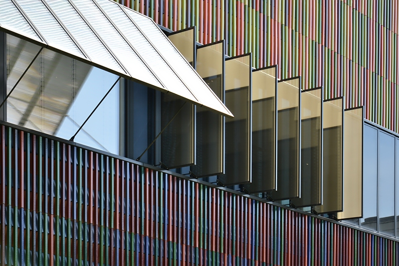 München, Museum Brandhorst, Fassade, Fabian Fröhlich