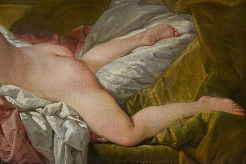 München, Alte Pinakothek, Francois Boucher, Ruhendes Mädchen
