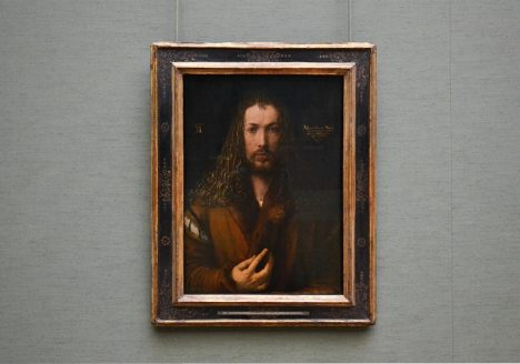 München, Alte Pinakothek, Albrecht Dürer, Selbstbildnis mit Pelzrock