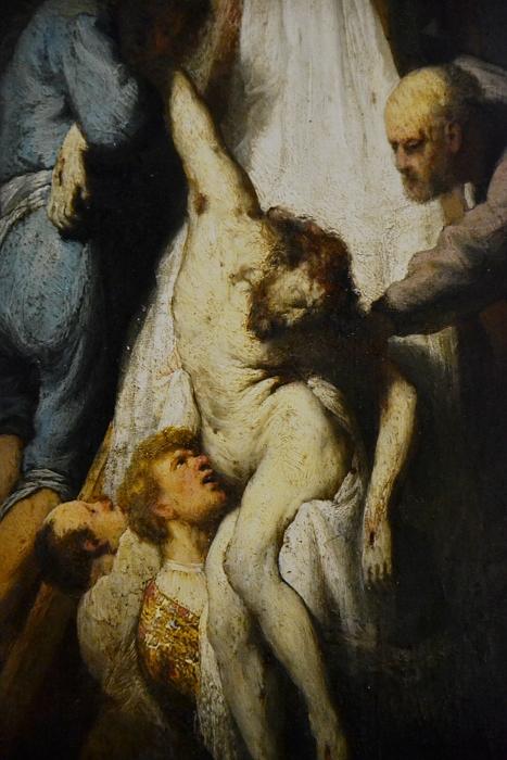 München, Alte Pinakothek, Rembrandt van Rijn, Kreuzabnahme