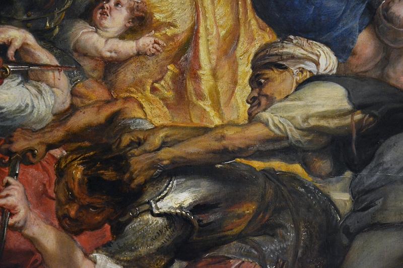 München, Alte Pinakothek, Peter Paul Rubens, Der Kindermord von Bethlehem