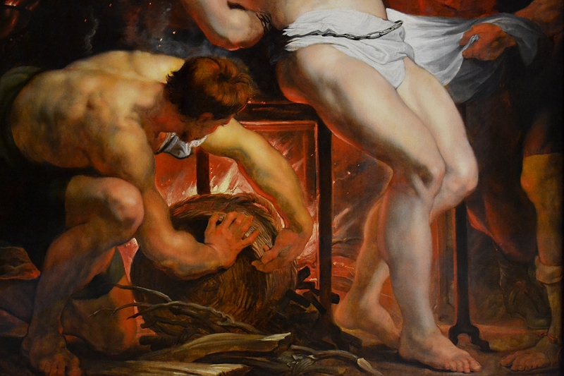 München, Alte Pinakothek, Peter Paul Rubens, Das Martyrium des Laurentius