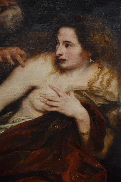 München, Alte Pinakothek, Peter Paul Rubens, Susanna im Bade