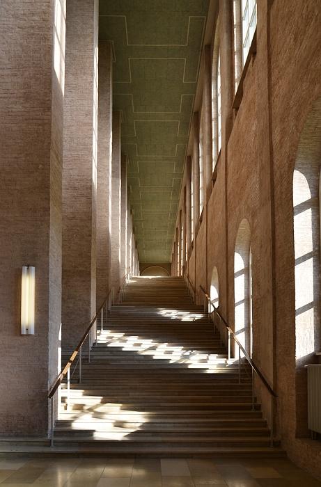 München, Alte Pinakothek, Treppenhaus