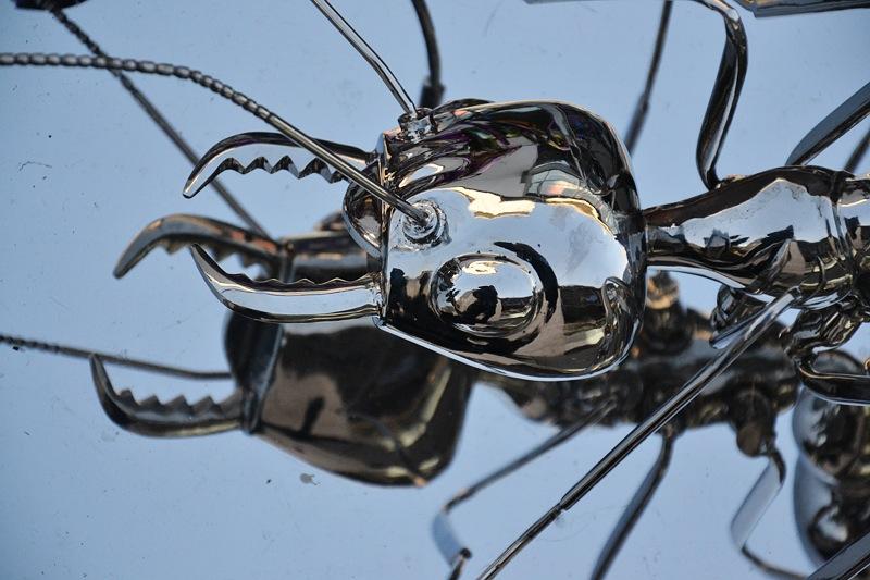 Kassel, Chinesische Kunst, Alles unter dem Himmel gehört allen, Ameisen, Chen Zhiguang, Zeitalter der Migration