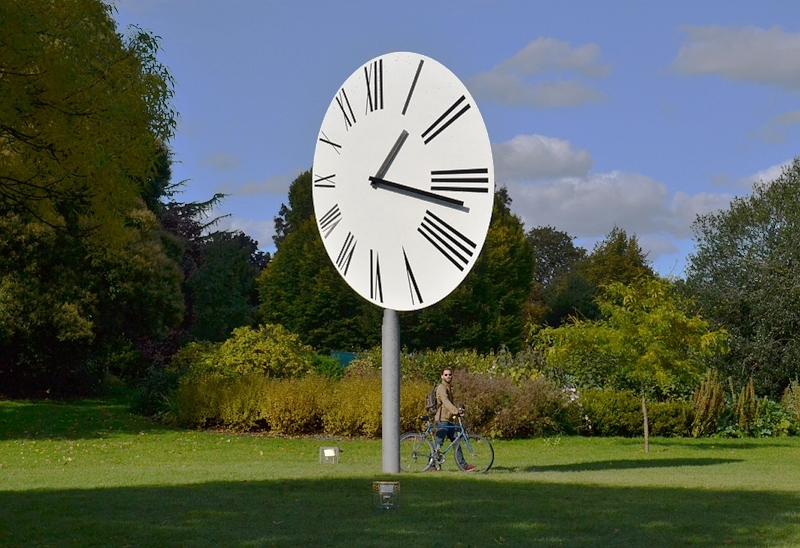 London, Frieze Art Fair, Sculpture Park, Regent's Park, Anri Sala, Clocked Time