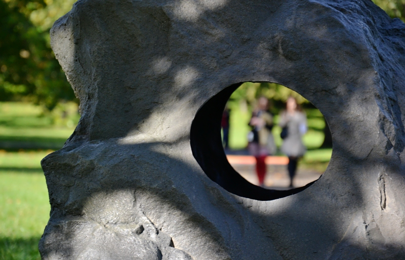 London, Frieze Art Fair, Sculpture Park, Regent's Park, Damián Ortega, Through/True Stone