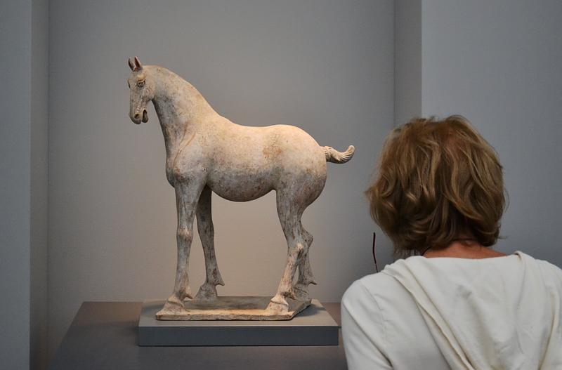 London, Frieze London, Pottery Horse, Tang Dynasty