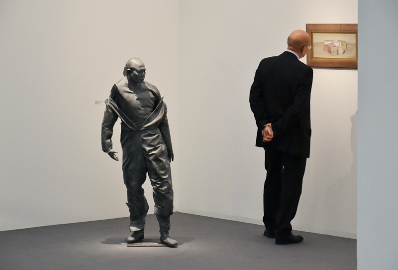 London, Frieze Masters, Juan Munoz, Pelotaris, Fabian Fröhlich