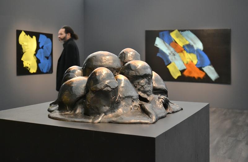 London, Frieze Masters, Louise Bourgeois, Unconscious Landscape, Fabian Fröhlich