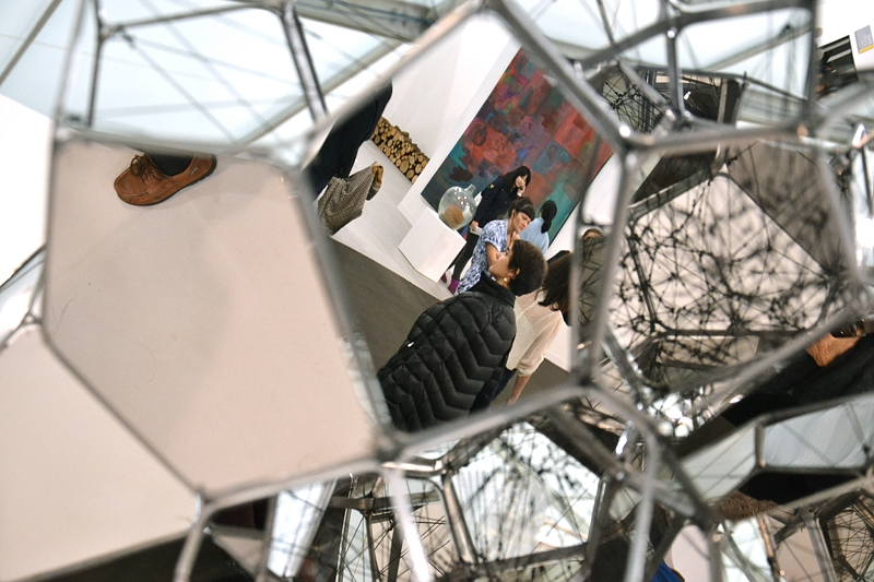 London, Frieze Art Fair, Tomas Saraceno, Fabian Fröhlich