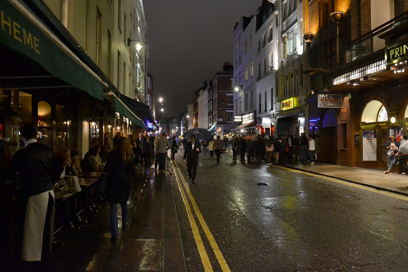 London, Soho, Old Compton Street