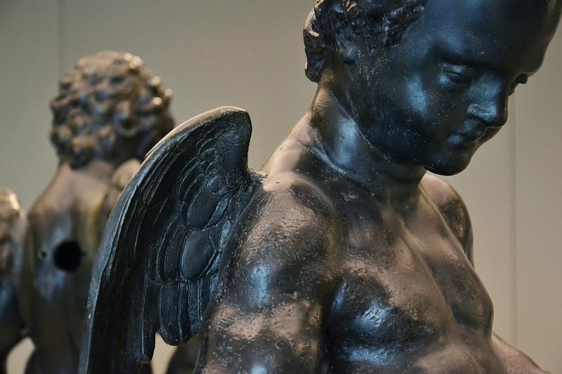 Augsburg, Maximilianmuseum, Putti vom Herkulesbrunnen, Fabian Fröhlich