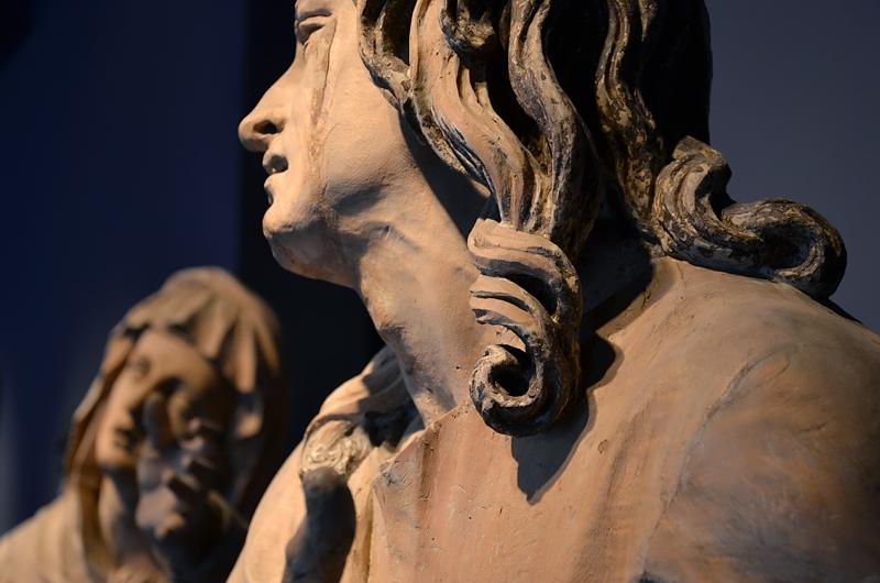 Augsburg, Maximilianmuseum, Trauernder Johannes Evangelista von Georg Petl, Fabian Fröhlich