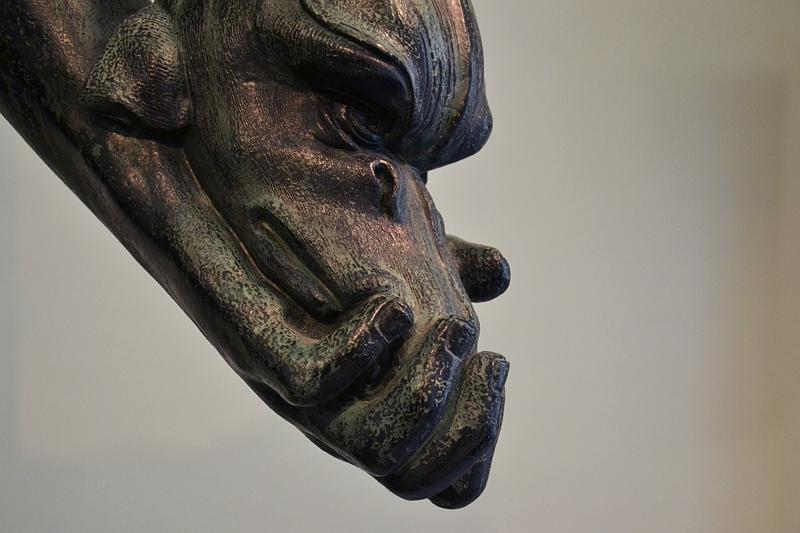 Augsburg, Maximilianmuseum, Hand des Neptun vom Neptunbrunnen, Fabian Fröhlich