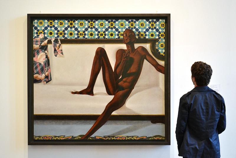 Tate Modern, Barkley L Hendricks, Family Jules: NNN (No Naked Niggahs)