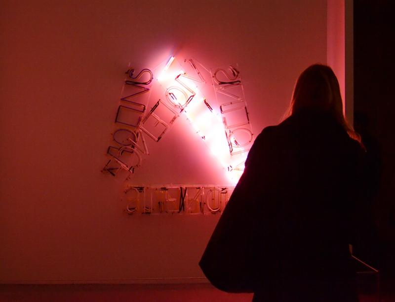 Tate Modern, Bruce Nauman, Violins Violence Silence