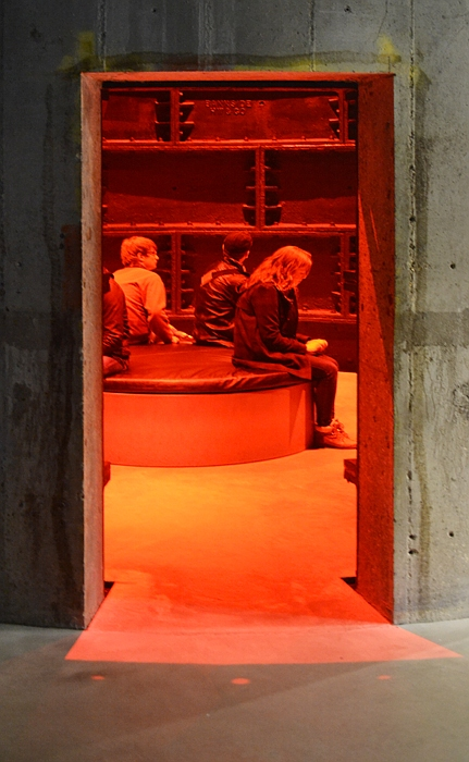 Tate Modern, The Tanks, Red Room